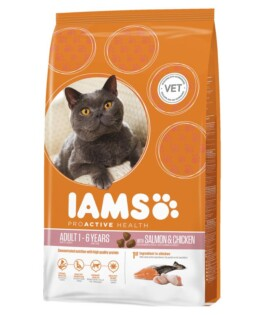 IamsProActiveHealth_Adult Dry Cat Food With Norwegian Salmon&Chicken 3D